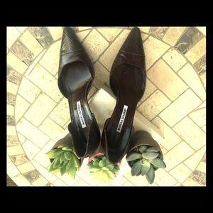 Women's size 9 1/2 -10 Manolo Blahnik